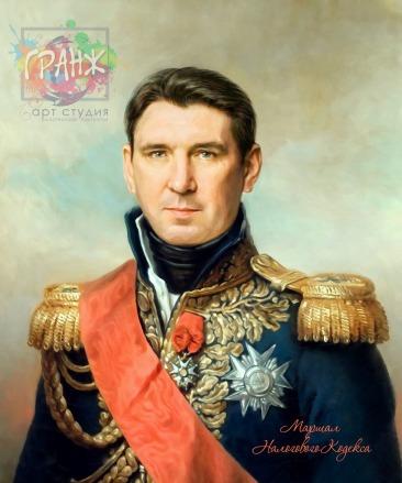 Портрет по фото на холсте в подарок мужчине на 23 февраля Самара