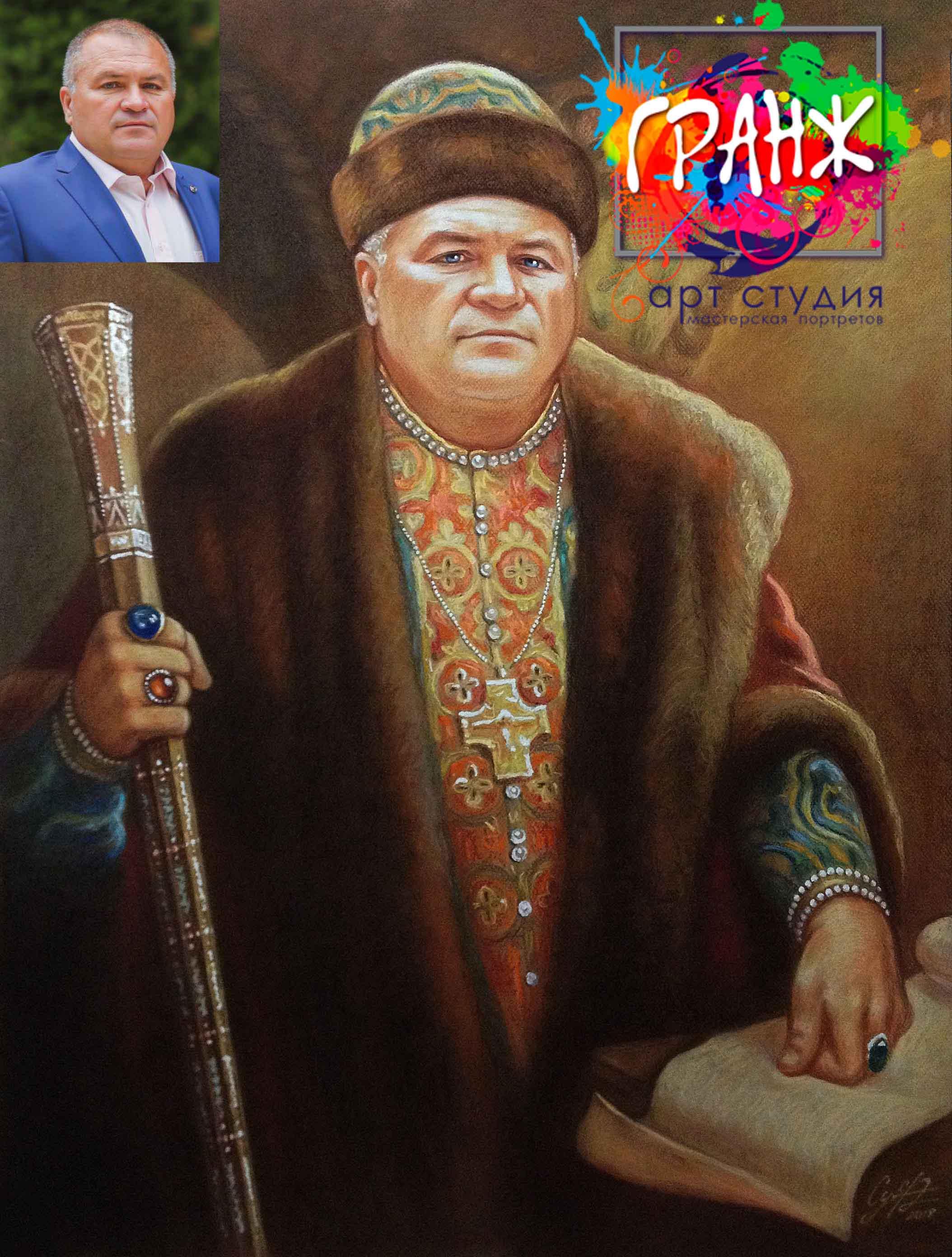 Заказать портрет маслом по фотографии в Самаре