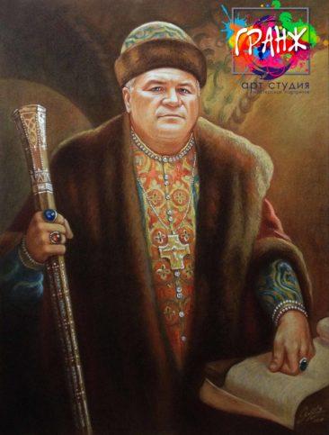 Заказать портрет маслом в Самаре